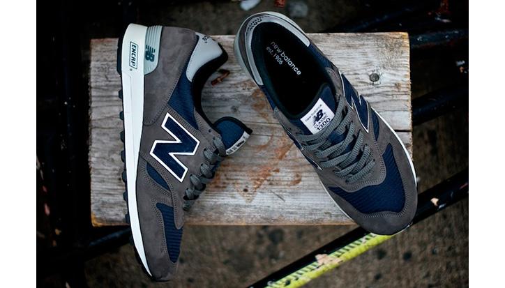 """Photo06 - New Balance 2012 Fall 1300NG """"Navy and Grey"""""""