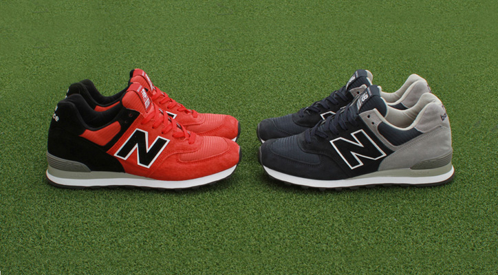 """Photo01 - Concepts x New Balance 574 """"Home vs. awaY"""" Pack"""