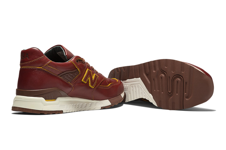 "Photo05 - HORWEEN LEATHER x new balance M998 ""Made in U.S.A"" を限定発売"