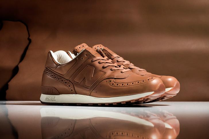 Photo01 - ニューバランスは、老舗英国革靴の名門Grensonとのコラボレーションモデルを発売