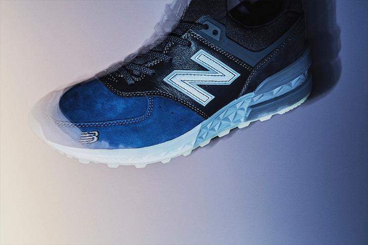 Photo05 - ニューバランスから、BLUE HOURと呼ばれるmita sneakersとのコラボレートモデルMS574が発売