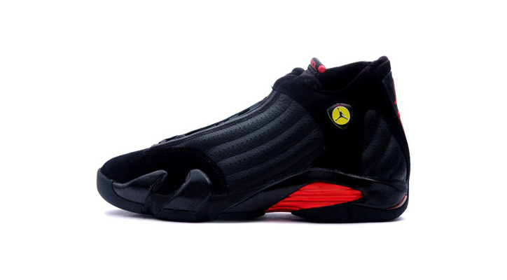 Photo01 - NIKE Air Jordan XIV 14 Black-Varsity Red