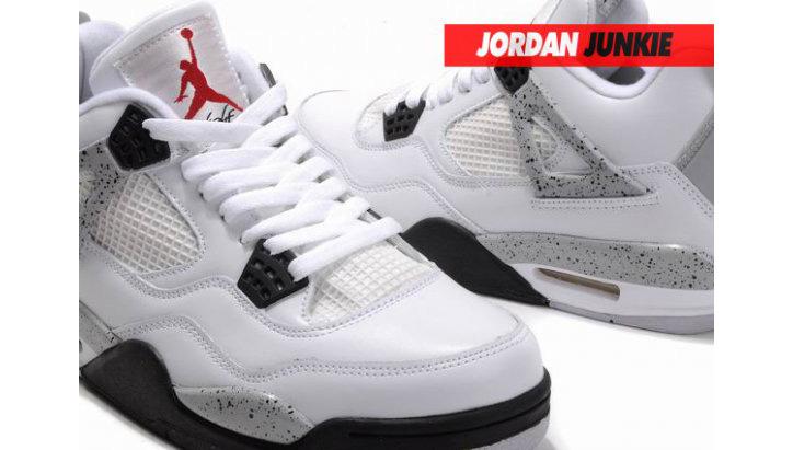 Photo03 - Nike Air Jordan IV White/Cement Grey Retro