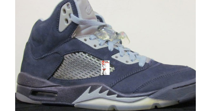 Photo01 - AIR JORDAN 5 BLUE UNRELEASED SAMPLE
