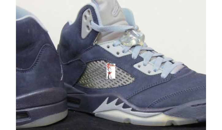 Photo02 - AIR JORDAN 5 BLUE UNRELEASED SAMPLE