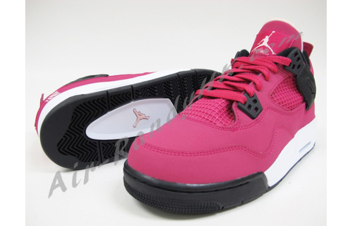 "Photo02 - AIR JORDAN 4 GS ""VOLTAGE CHERRY"""