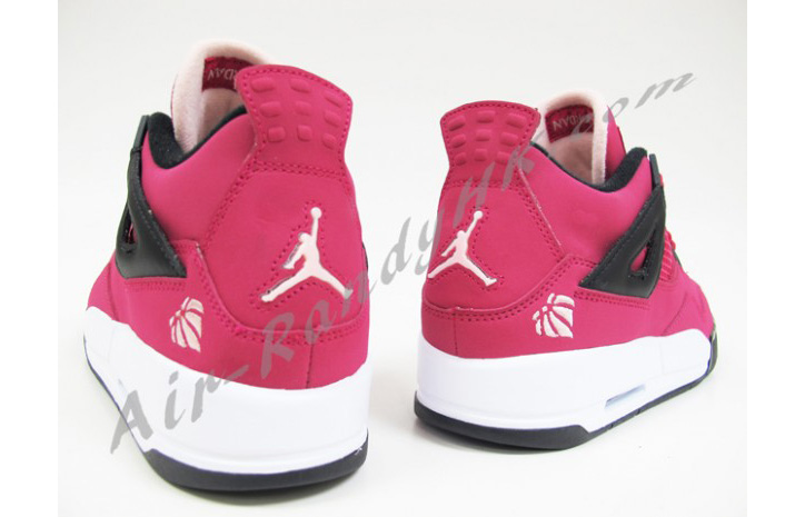 "Photo04 - AIR JORDAN 4 GS ""VOLTAGE CHERRY"""
