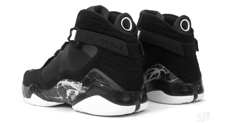 Photo03 - AIR JORDAN 8.0 BLACK/DARK CHARCOAL-WHITE