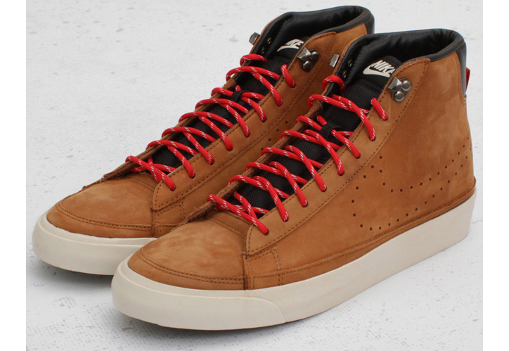 "Photo03 - Nike Blazer Mid Premium ""ACG"" – Hazelnut / Sport Red"