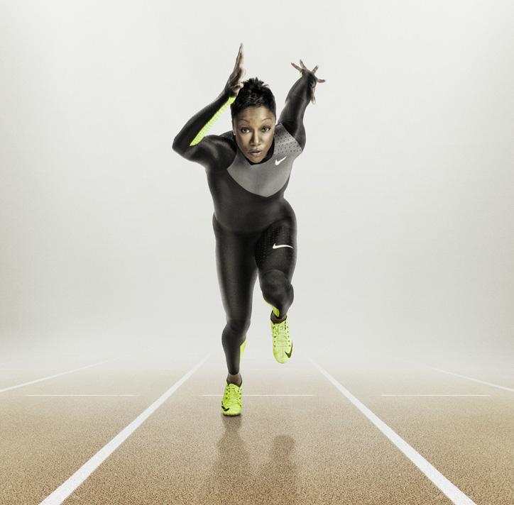 Photo04 - ナイキ、「競技の夏」に向けて「ナイキ フライニット」など 最先端の軽量パフォーマンス・イノベーションを発表