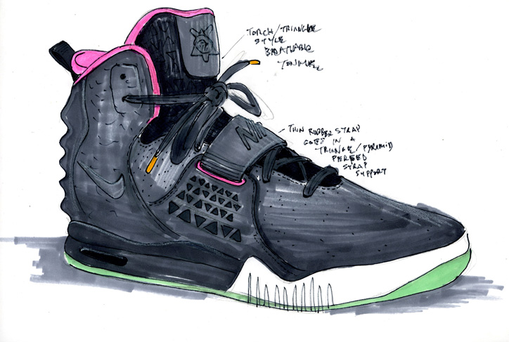 Photo09 - NIKE AIR YEEZY Ⅱ