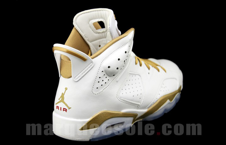 "Photo03 - AIR JORDAN 6 ""GOLD MEDAL"" PACK"