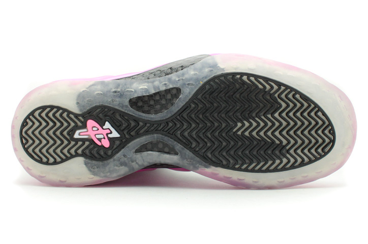 """Photo06 - NIKE AIR FOAMPOSITE ONE PINK/BLK """"LIMITED EDITION for NONFUTURE"""""""