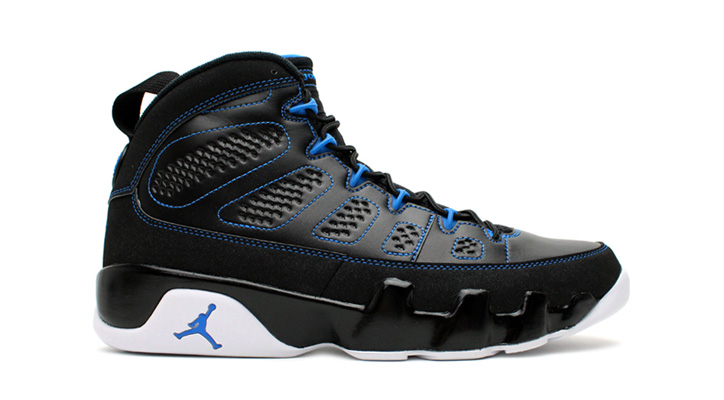 Photo01 - AIR JORDAN 9 RETRO BLACK/WHITE-PHOTO BLUE
