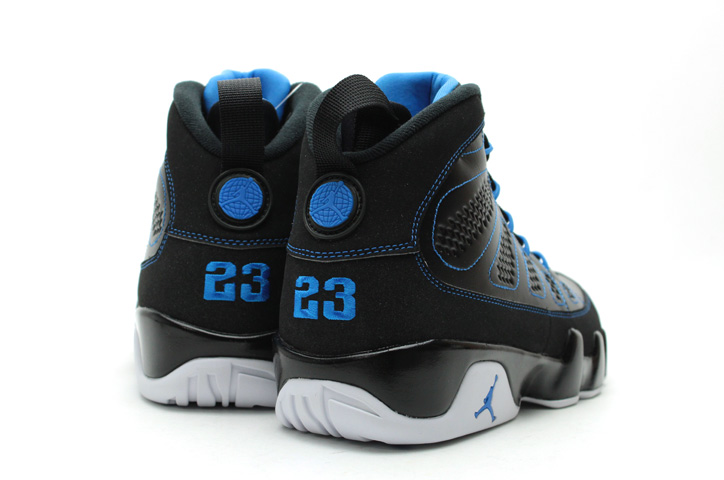 Photo02 - AIR JORDAN 9 RETRO BLACK/WHITE-PHOTO BLUE