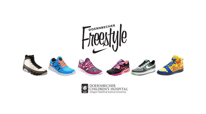 Photo01 - NIKE x DOERNBECHER FREESTYLE IX – 2012 COLLECTION
