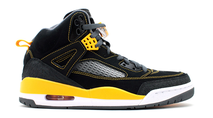 Photo01 - NIKE JORDAN SPIZIKE BLACK/UNIVARSITY GOLD/DARK GREY-WHITE
