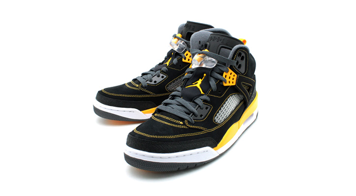 Photo02 - NIKE JORDAN SPIZIKE BLACK/UNIVARSITY GOLD/DARK GREY-WHITE