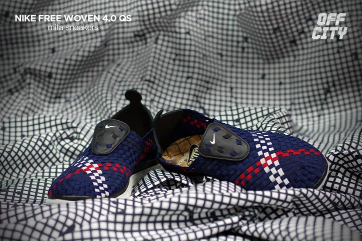 "Photo04 - NIKE FREE WOVEN 4.0 QS ""mita sneakers"""