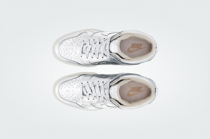 Photo06 - NIKE Metallic CollectionからNIKE DUNK SKY HIGH Au / Ag を発売