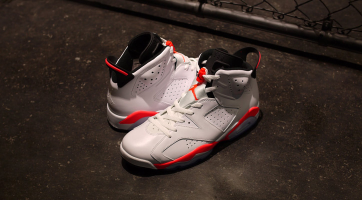 "Photo01 - NIKE AIR JORDAN VI RETRO ""INFRARED"" が発売"