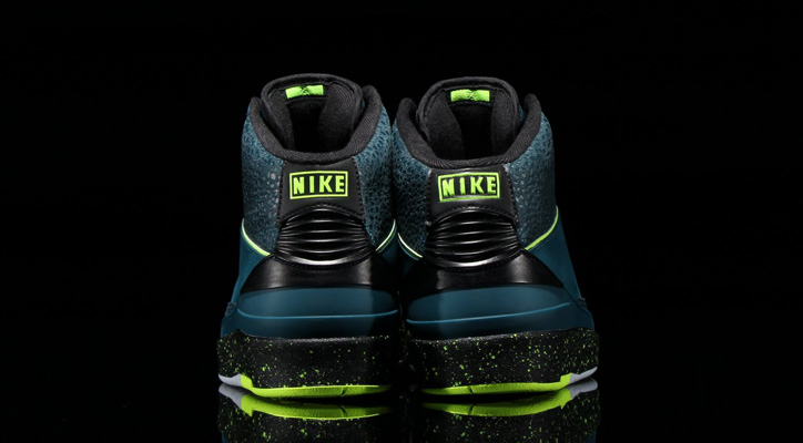 Photo03 - NIKE AIR JORDAN 2 RETRO NIGHT SHADE/VOLT ICE-BLACK-PURE PLATINUMが発売