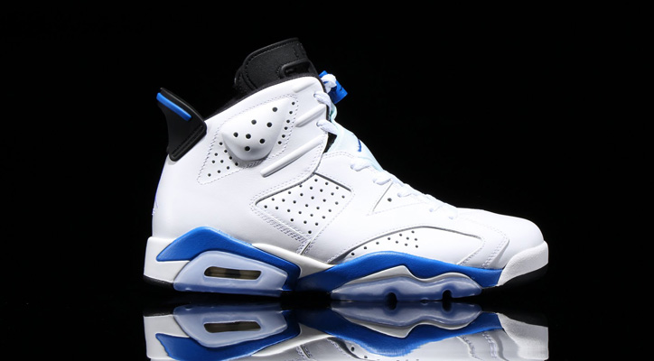 "Photo01 - NIKE AIR JORDAN VI RETRO ""SPORTS BLUE"" が発売"