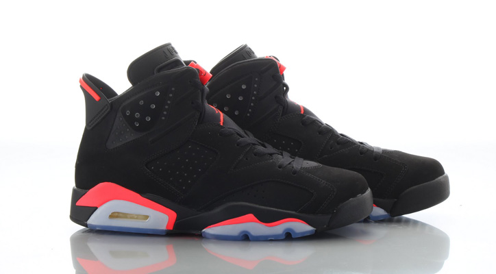 Photo01 - NIKE AIR JORDAN 6 BLACK/INFRARED が復刻
