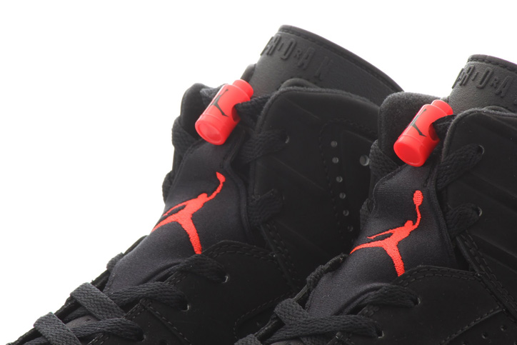 Photo05 - NIKE AIR JORDAN 6 BLACK/INFRARED が復刻