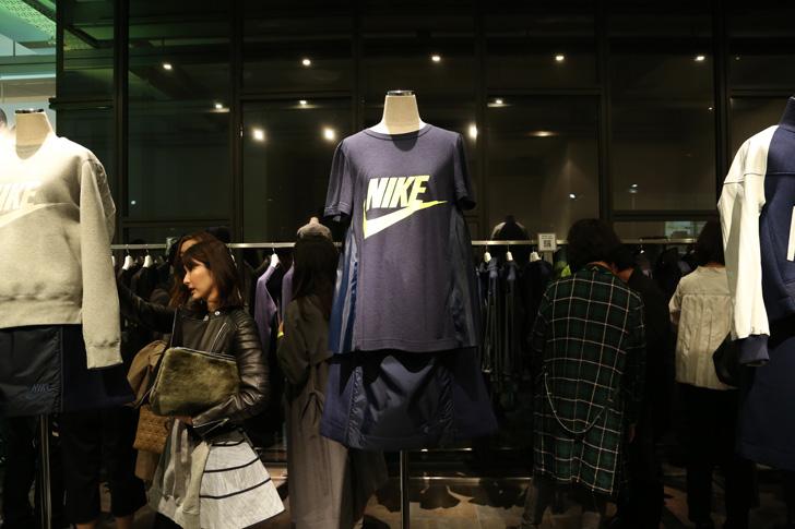 Photo04 - NikeLab x sacaiがスポーツウェアの定番に暖かく贅沢なひねりを加えた秋冬のコレクションを発表