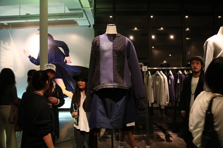 Photo06 - NikeLab x sacaiがスポーツウェアの定番に暖かく贅沢なひねりを加えた秋冬のコレクションを発表
