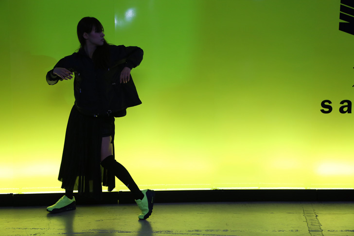 Photo14 - NikeLab x sacaiがスポーツウェアの定番に暖かく贅沢なひねりを加えた秋冬のコレクションを発表