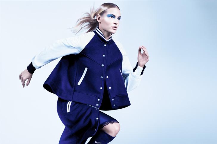 Photo23 - NikeLab x sacaiがスポーツウェアの定番に暖かく贅沢なひねりを加えた秋冬のコレクションを発表