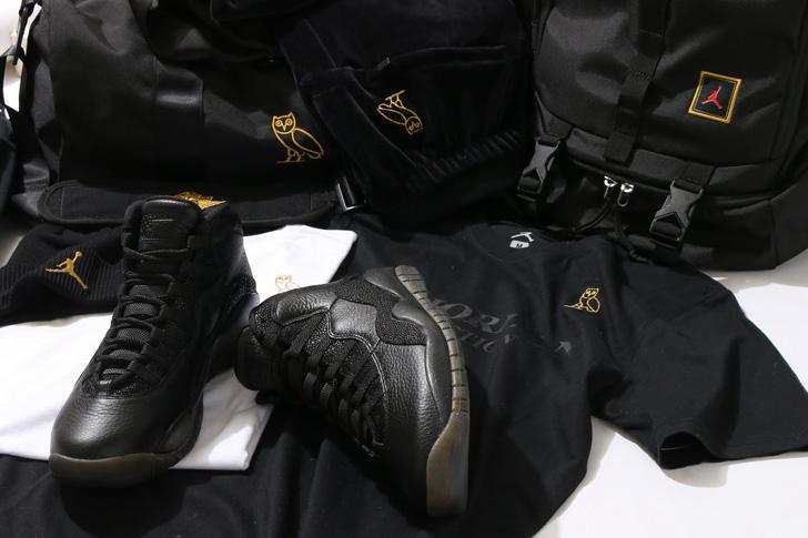 Photo01 - Jordanブランドから、トロント出身のラッパーDRAKEがデザインしたAIR JORDAN X RETRO OVOが発売