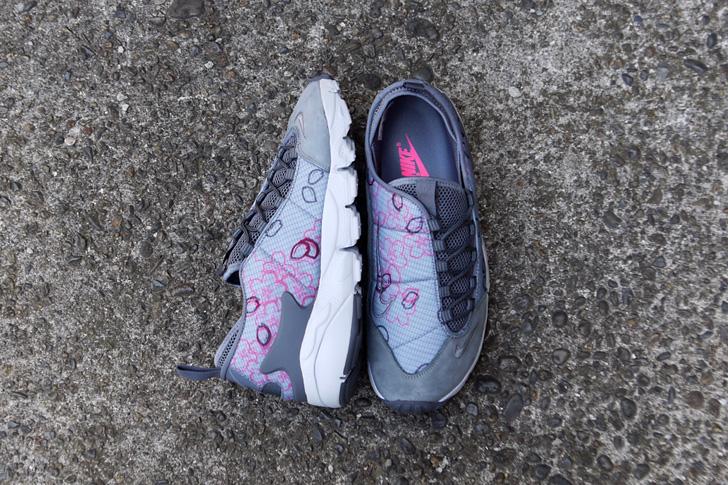 "Photo03 - ナイキから、桜をモチーフにしたmita sneakers提案モデルAIR FOOTSCAPE NM PREMIUM QS ""SAKURA""が発売"