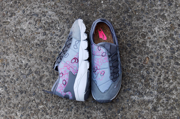 "Photo04 - ナイキから、桜をモチーフにしたmita sneakers提案モデルAIR FOOTSCAPE NM PREMIUM QS ""SAKURA""が発売"