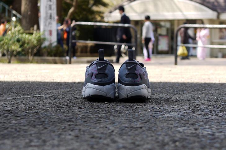 "Photo09 - ナイキから、桜をモチーフにしたmita sneakers提案モデルAIR FOOTSCAPE NM PREMIUM QS ""SAKURA""が発売"