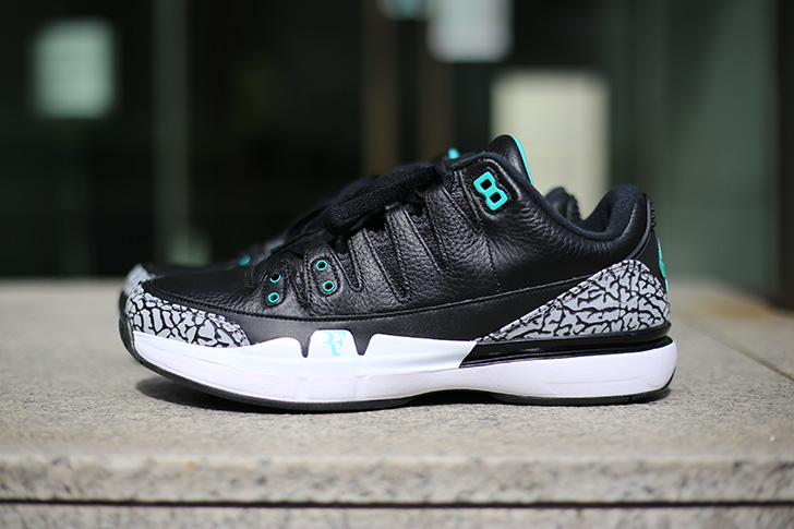 "Photo06 - NIKE COURT ZOOM VAPOR RF X AIR JORDAN 3 ""atmos""がSports Lab by atmos Shinjukuにて世界先行発売"