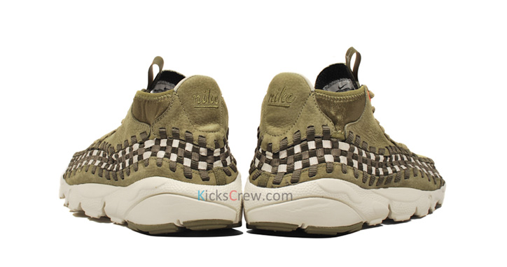 "Photo04 - NIKE AIR FOOTSCAPE WOVEN CHUKKA ""DARK ARMY"""