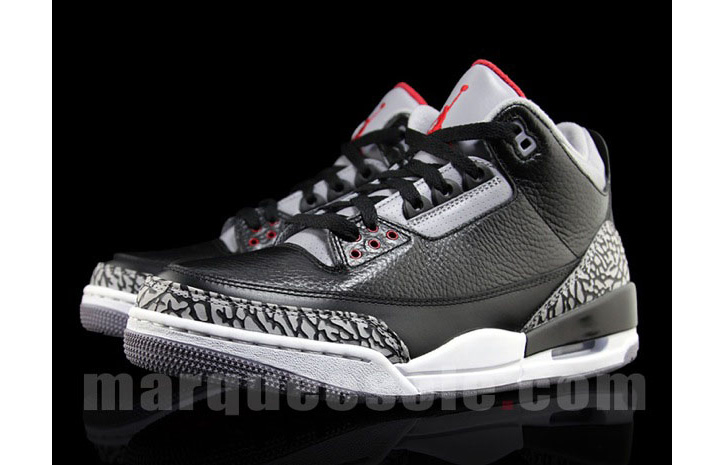Photo02 - NIKE AIR JORDAN 3 BLACK/CEMENT