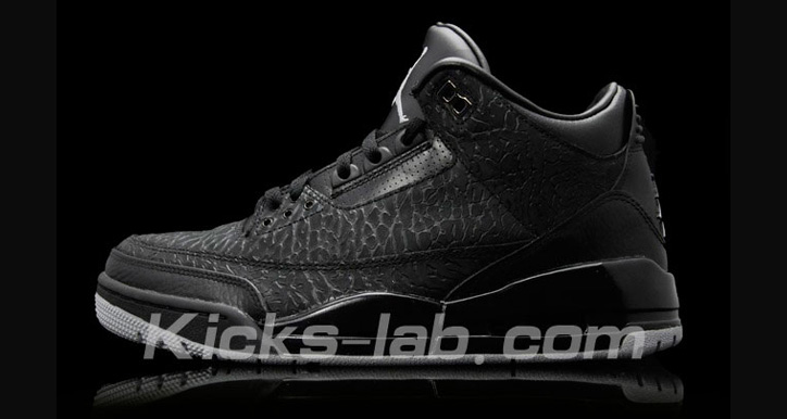 "Photo01 - NIKE AIR JORDAN 3 ""BLACK FLIP"""