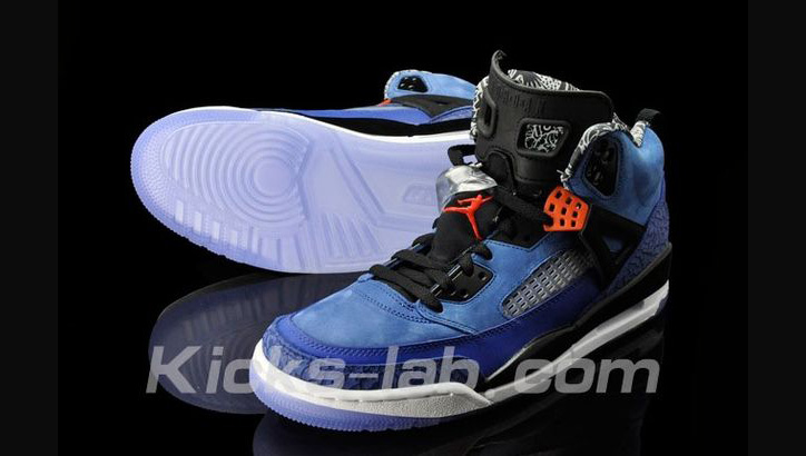 "Photo02 - Nike Air Jordan Spizike NY Knicks ""Away"""