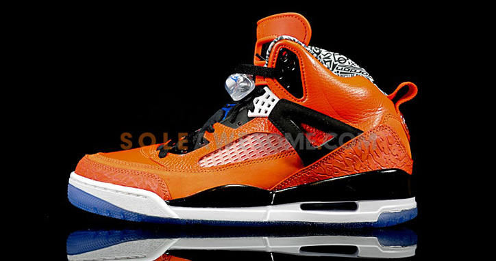 Photo01 - NIKE JORDAN SPIZIKE ORANGE/BLACK-WHITE