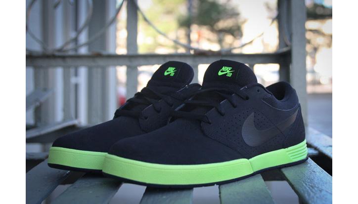 Photo01 - Nike SB Paul Rodriguez 5 Black/Volt