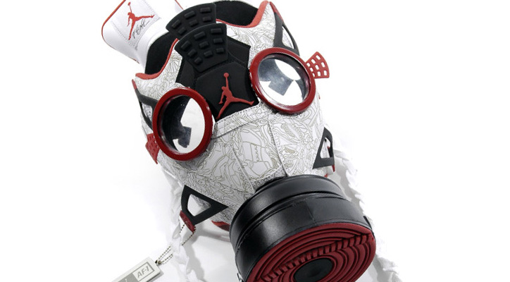 Photo01 - Air Jordan Fusion 4 Gas Mask by Freehand Profit
