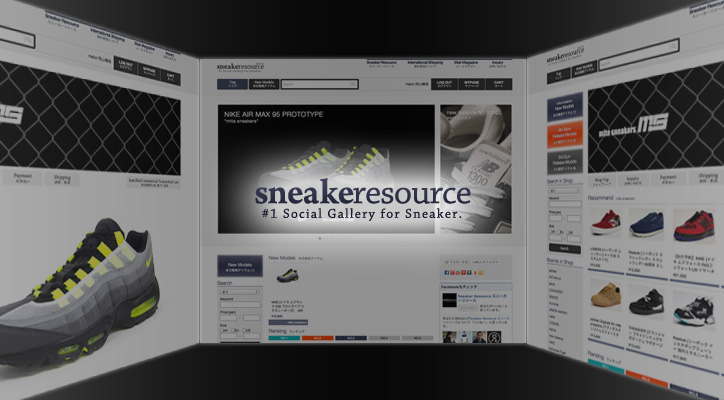 Photo01 - Sneaker Resource モールオープン!