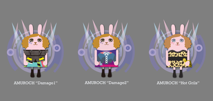 "Photo03 - 安室奈美恵 ""AMUROCH♥USAVICH"" x Vision Street Wear x CHAPTER コラボレーションモデルが発売"