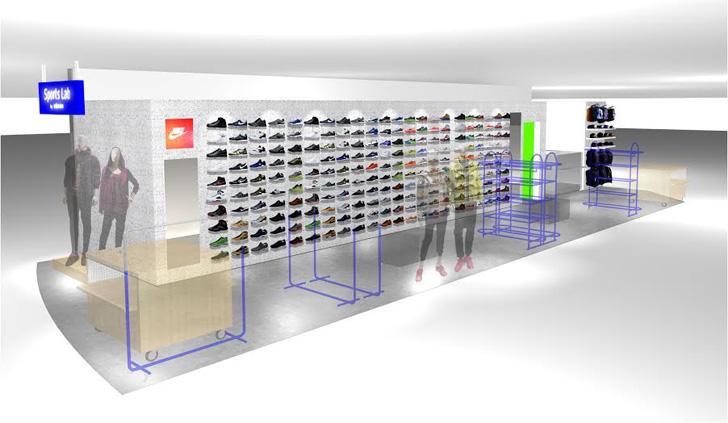 Photo01 - Sports Lab by atmosは福岡県博多に第9号店をオープンし、同ショップ限定のNIKE AIR PRESTO GPXを先行発売