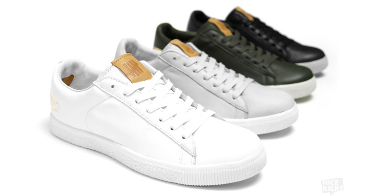 "Photo02 - UNDFTD X PUMA CLYDE ""STRIPE-OFF"" COLLECTION"