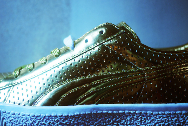 Photo03 - Bread & Butter UNDFTD x PUMA 2013 Spring/Summer 24k Gold Clyde